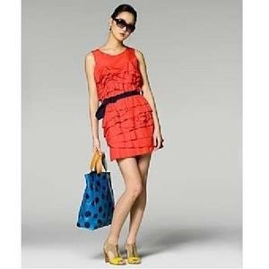 Phillip Lim belted ruffle dress